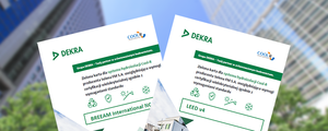 Zielona Karta Produktu Budowlanego DEKRA dla Cool-R